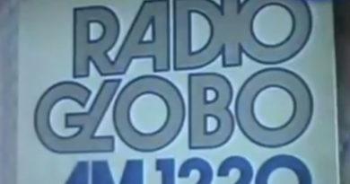 Relíquia da Rádio Globo