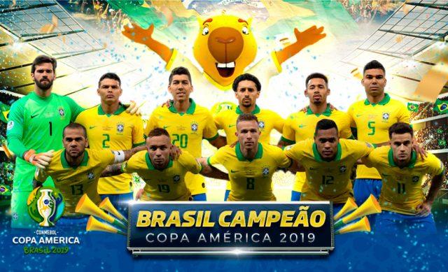 Veja os gols da vitória da seleção brasileira na final da Copa América com a minha narração